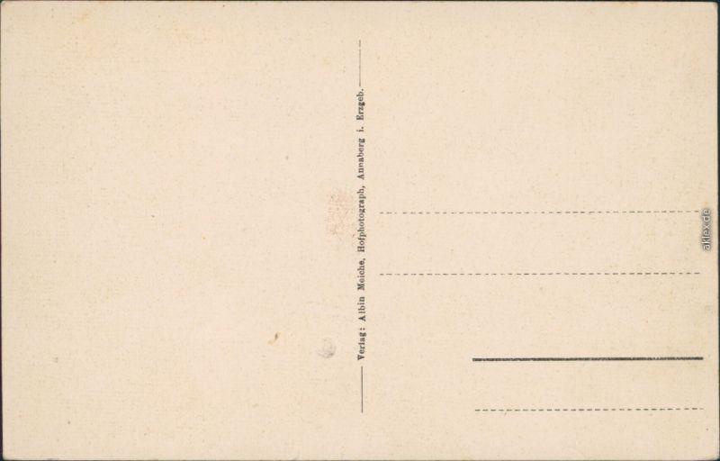 Wiesa Erzgebirge Wiesenbad Stadtpartie Ansichtskarte 1924 1