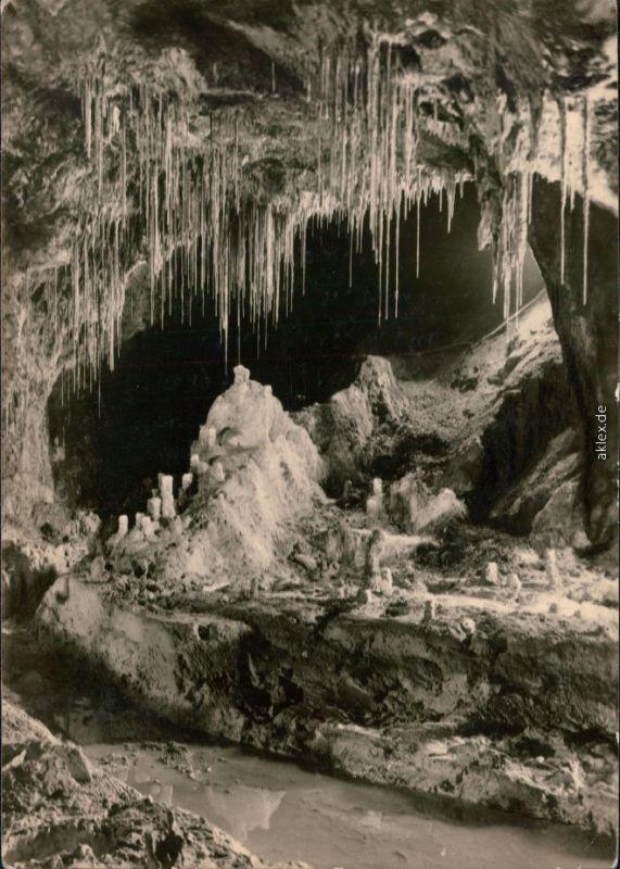 Saalfeld (Saale) Grotten: Märchendom mit Gralsburg 1964
