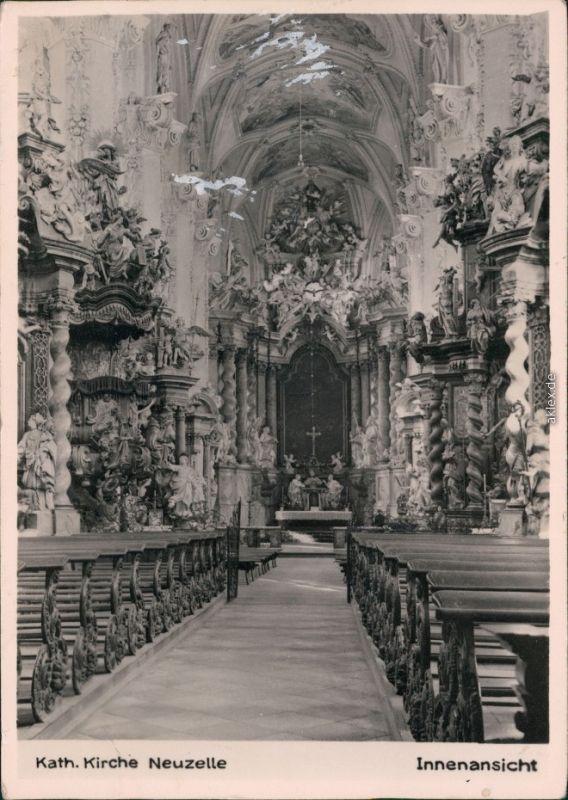 Neuzelle Katholische Kirche - Innenansicht 1963