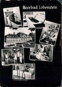Bad Lobenstein Moorbad Lobenstein: Sauna,  Gymnastik, Unterwasser-Massage 1972