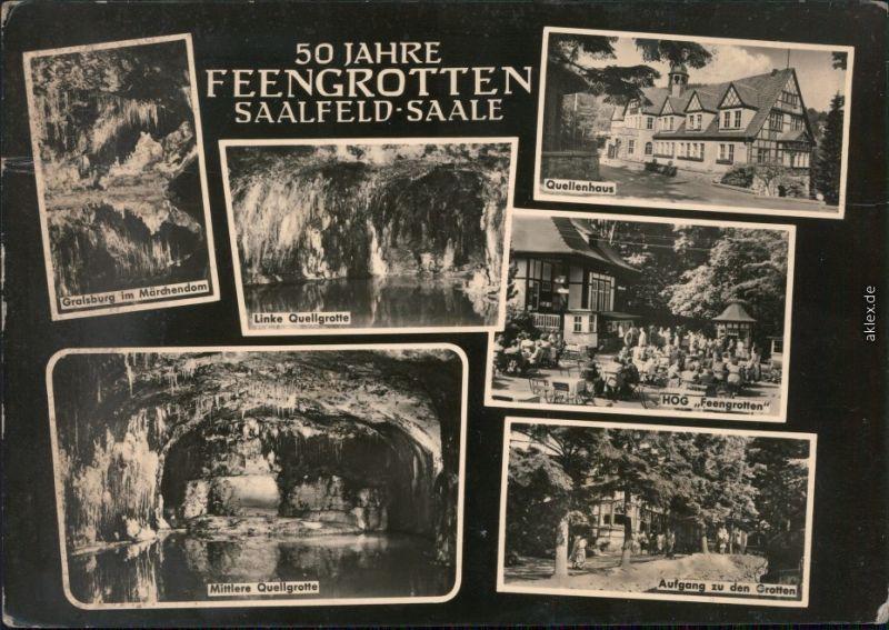 Saalfeld (Saale) Feengrotten - Gralsburg im Märchendom  HOG