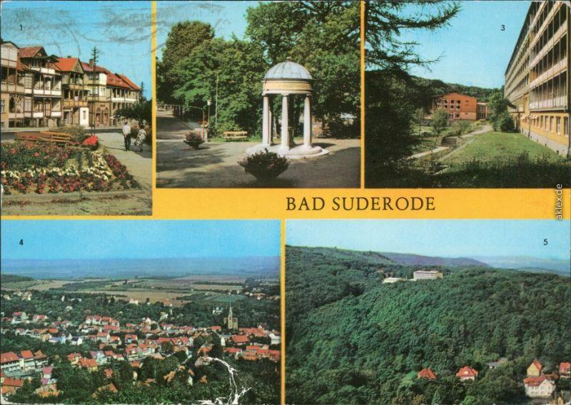 Bad Suderode 1 Rathausplatz 2 Behringer-Brunnen Sanatorium