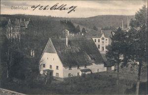 Oberbrügge Halver Partie in der Stadt  Ansichtskarte  1907