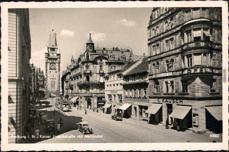 a6b7c748de1687 Freiburg im Breisgau Patie in der Kaiser Josephstraße - Geschäfte 1954 0