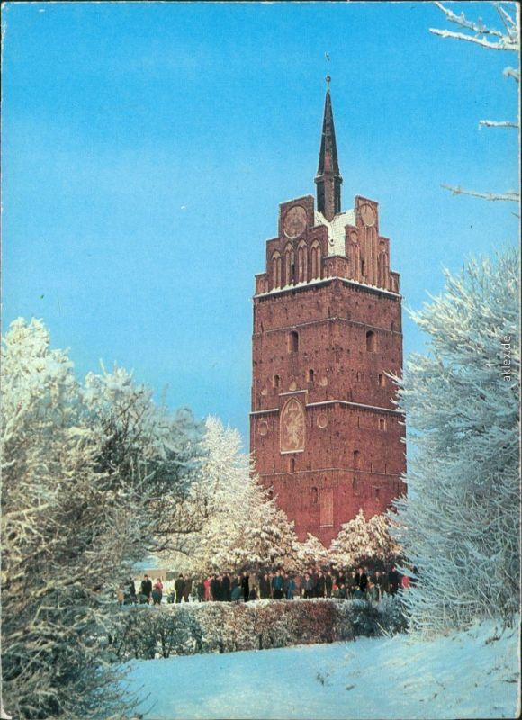 Ansichtskarte Rostock Kröpeliner Tor  xx  1979