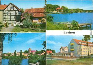 Lychen Malerwinkel, Oberpfuhlsee, Stadtsee, FDGB-Erholungsheim  Brecht
