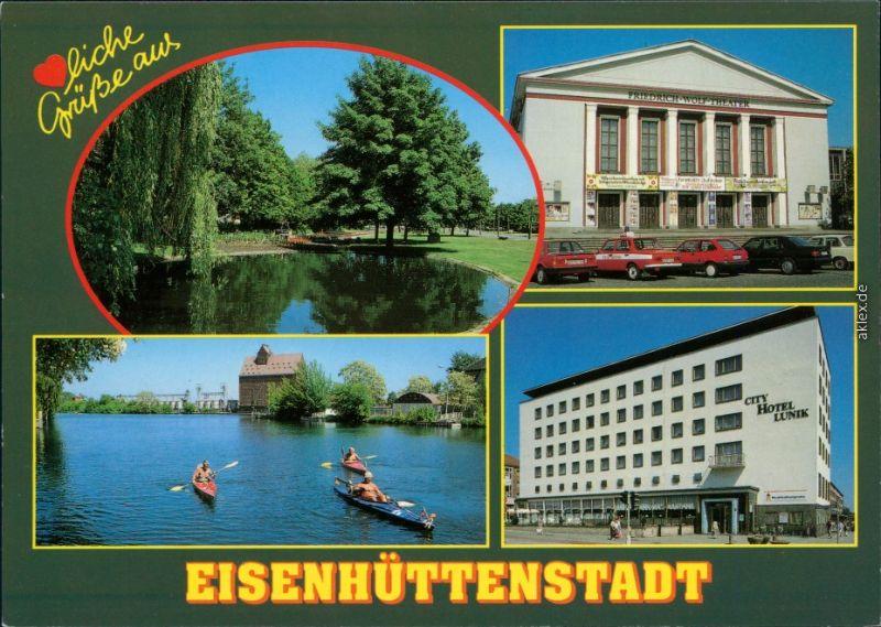 Eisenhüttenstadt Stalinstadt (1951-1961) An der Diehloer Straße City Hotel 1995