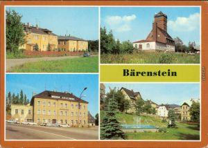 Bärenstein-Altenberg (Erzgebirge) Ferienheim   Gaststätte Berghotel   1983