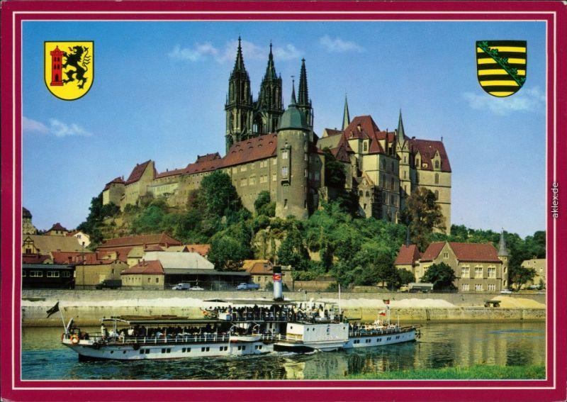 Ansichtskarte Meißen Albrechtsburg und Dom 1999