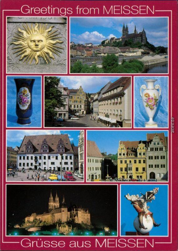 Meißen Hauszeichen von 1561, Albrechtsburg und Dom, Heinrichsplatz    1999