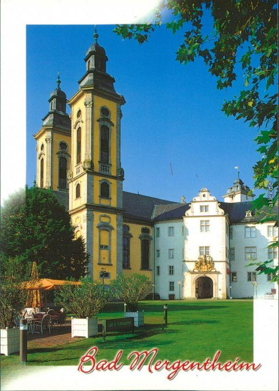 Ansichtskarte Bad Mergentheim Schloßkirche 1995