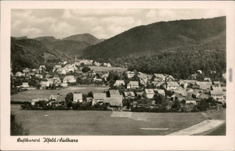 Ansichtskarte Ansichtskarte Ilfeld-Harztor Panorama-Ansicht 1955