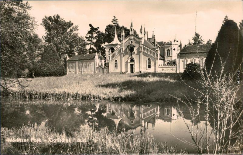Wörlitz Oranienbaum-Wörlitz Wörlitzer Park - Gotisches Haus 1966