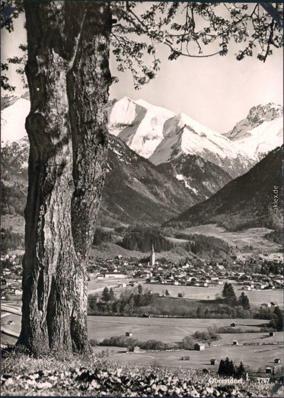 Ansichtskarte Ansichtskarte Oberstdorf (Allgäu) Panorama-Ansicht 1959