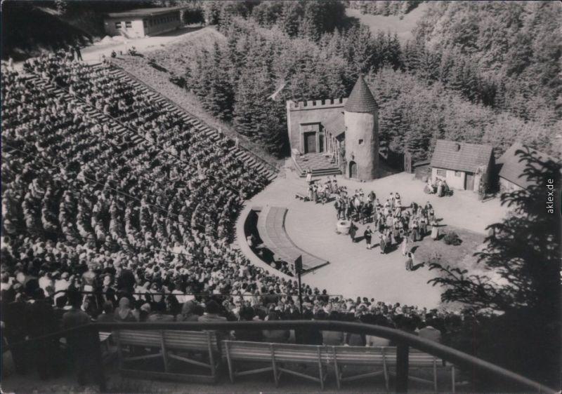 Steinbach-Langenbach-Schleusegrund   Naturtheater DSF Freundschaft 1963