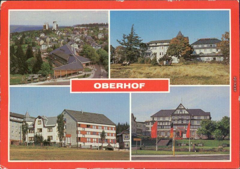 Oberhof (Thüringen FDGB-Erholungsheim Glückauf und Katja Niederkirchner,  1986
