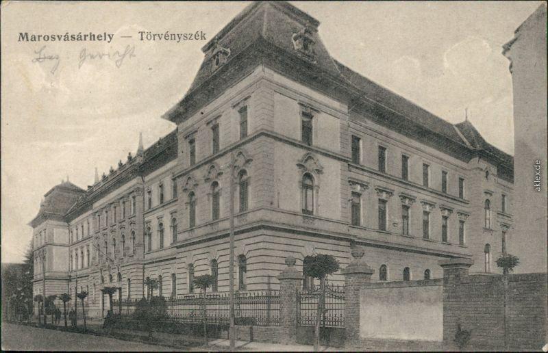 Neumarkt  Târgu Mureș  Marosvásárhely Gerichtshof  Braşov Kronstadt Brasso 1916