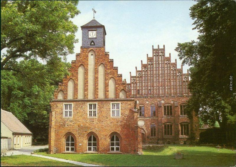 Ansichtskarte Kloster Zinna-Jüterbog Alte und Neue Abtei 1994