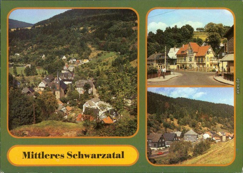 Katzhütte (Schwarzatal) Mellenbach-Glasbach -   Katzhütte -  Oberhammer 1989