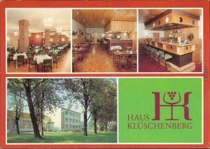 Plau (am See) Haus Klüschenberg - Restaurant, Bar, Grillbar, Außenansicht 1985
