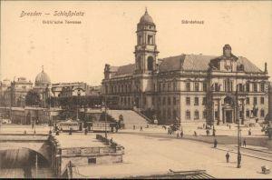 Ansichtskarte Innere Altstadt-Dresden Ständehaus 1927