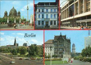 Berlin Marx-Engels-Brücke, Gaststätte Nikolaiviertel, Getraudenbrücke 1989