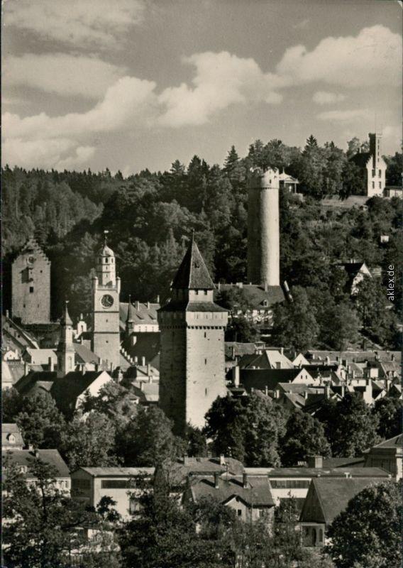 Ansichtskarte Ravensburg Überblick - Türme - Kirchen 1965
