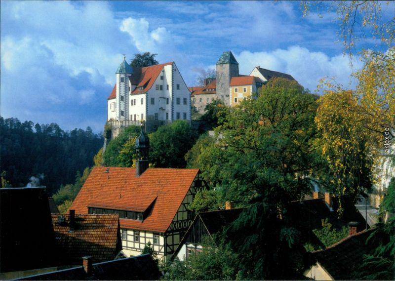 Hohnstein (Sächs. Schweiz) Burg Hohnstein (Sächsische Schweiz) 1995