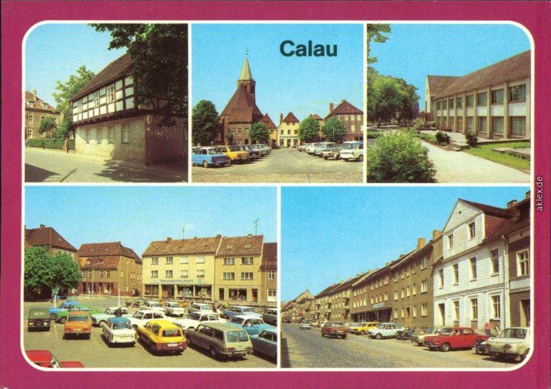 Calau Kalawa Heimatmuseum, Platz des Friedens,  Cottbuser Straße 1982