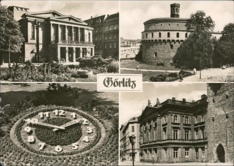 Görlitz Zgorzelec Demianiplatz: Stadttheater Humboldthaus 1971