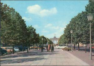 Ansichtskarte Mitte-Berlin Unter den Linden 1967