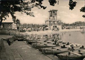 Ansichtskarte Großschönau (Sachsen) Waldstrandbad 1966