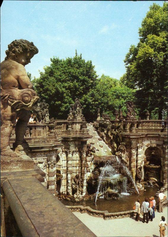 Innere Altstadt Dresden Dresdner Zwinger: Nymphenbad 1986
