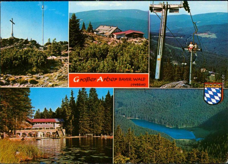 Ansichtskarte Bodenmais Großer Arber (Bayerischer Wald) 1971