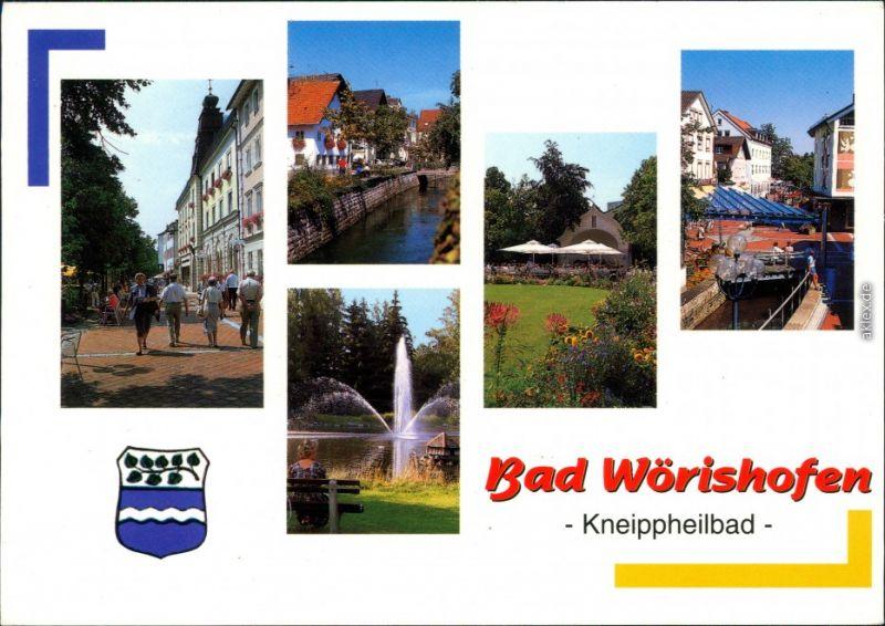 Ansichtskarte Ansichtskarte Bad Wörishofen Ansichten 2001
