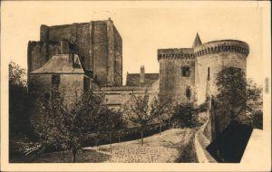 Ansichtskarte Loches Château de Loches/Schloss Loches 1935