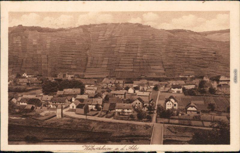 Ansichtskarte Walporzheim-Bad Neuenahr-Ahrweiler Panorama Blick 1923