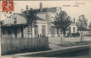 Ansichtskarte Mazamet La Gare/Partie am Bahnhof  Castres CPA 1910