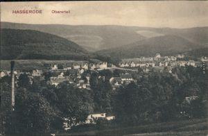 Hasserode Wernigerode Panorama-Ansicht Hasserode, Obererteil 1919