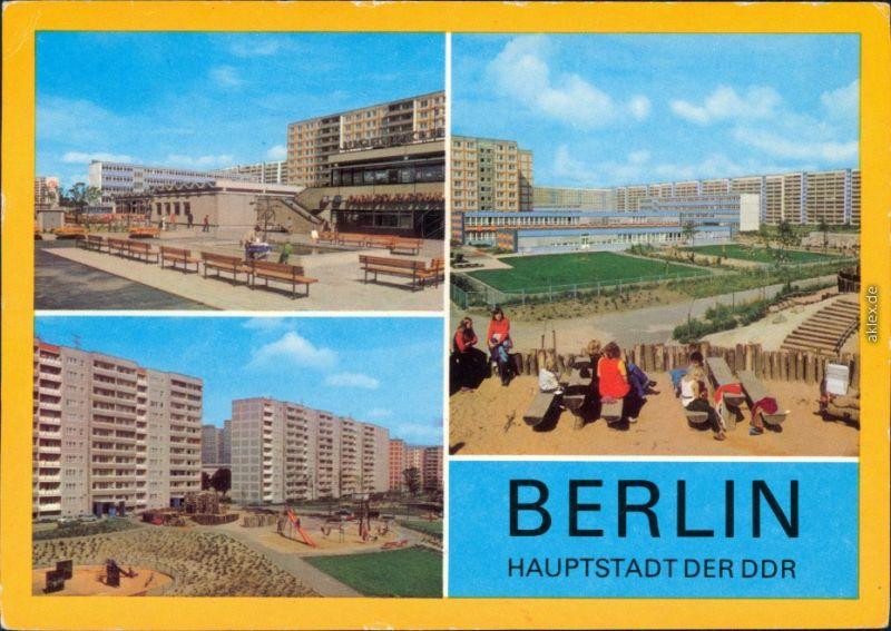 Ansichtskarte Lichtenberg Berlin Berlin - Lichtenberg Neubaugebiet g1979
