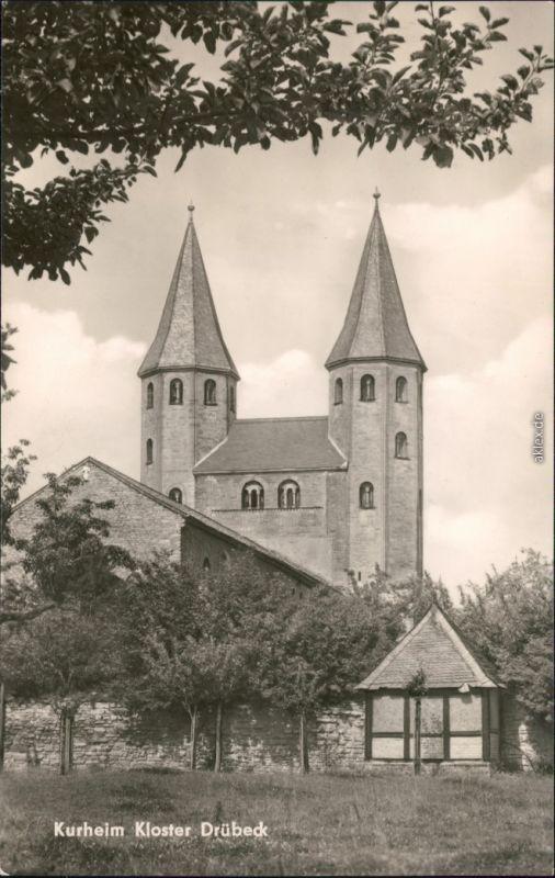 Ansichtskarte Drübeck Kurheim Kloster 1964