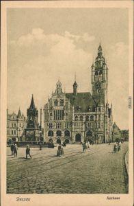 Ansichtskarte Dessau-Dessau-Roßlau Rathaus 1914