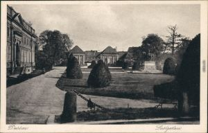 Ansichtskarte Dessau-Dessau-Roßlau Lustgarten 1935
