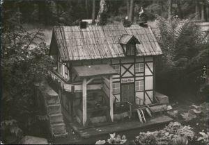 Lindau (Anhalt)-Zerbst DFGB Diät-Sanatorium - Modell der Storchmühle  1982