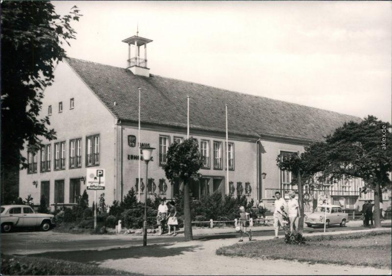 Ansichtskarte Ahlbeck (Usedom) FDGB-Erholungsheim Haus der Erholung 1976