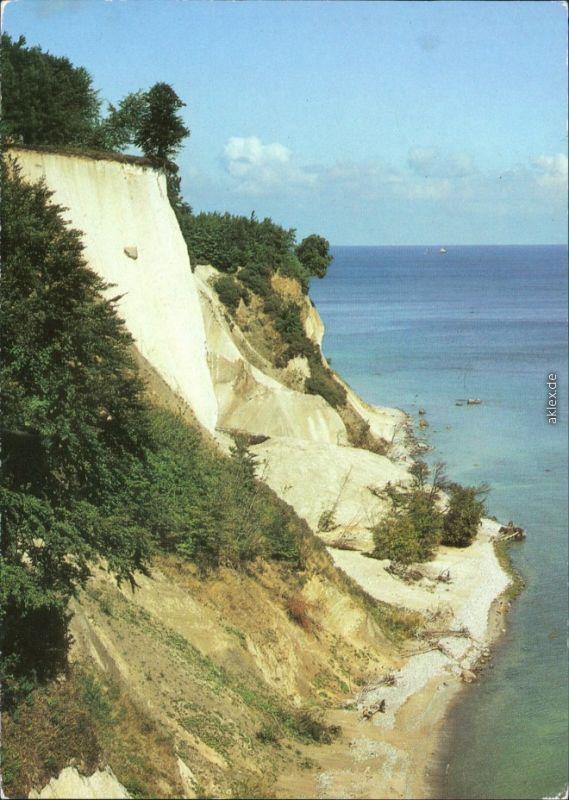 Ansichtskarte Sassnitz Saßnitz Ernst-Moritz-Arndt-Sicht 1987