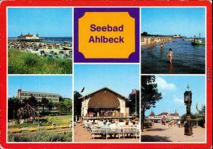Ahlbeck (Usedom)Strand, FDGB-Erholungsheim