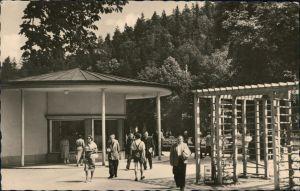 Ansichtskarte Bad Elster Kolonnaden 1959
