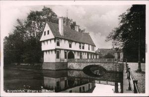 Burgsteinfurt Steinfurt Alte Ritterburg - Eingang zum Schloss   1930
