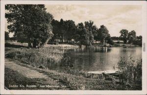 Ansichtskarte Flecken Zechlin Schwarzen See 1959